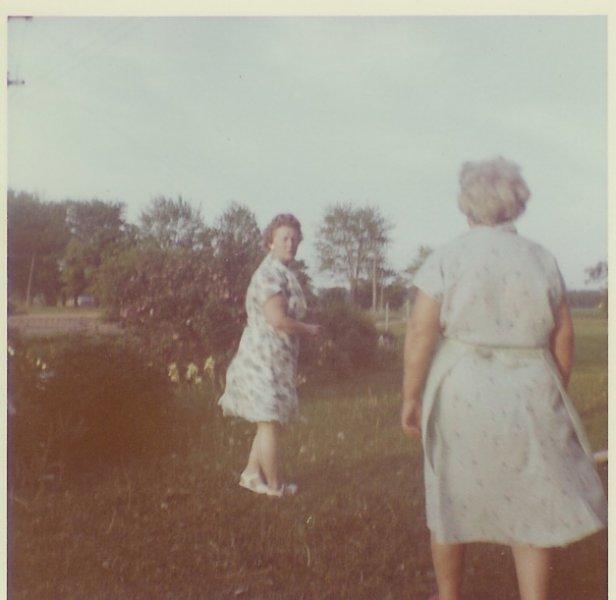 Grandma & Rita O'Leary