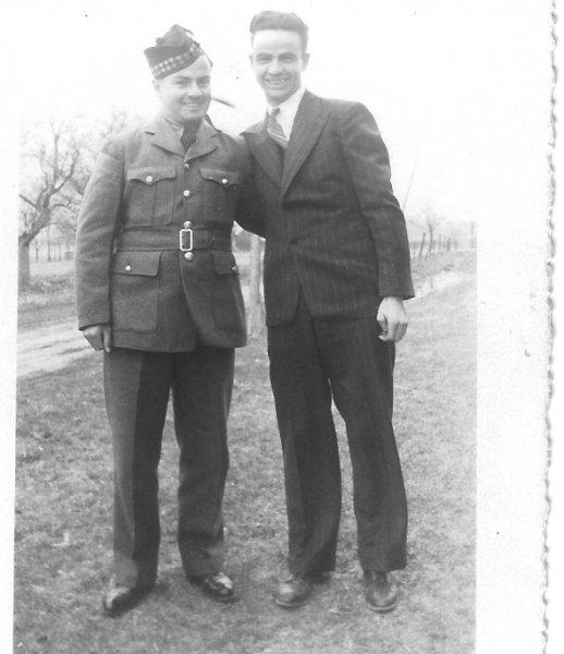 Hugh & Leonard O'Leary