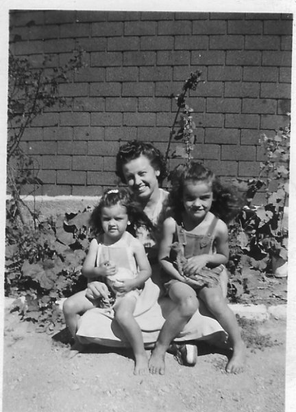 Madeline with Betty & Theresa