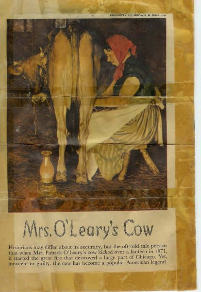 Mrs.O'Leary's Cow