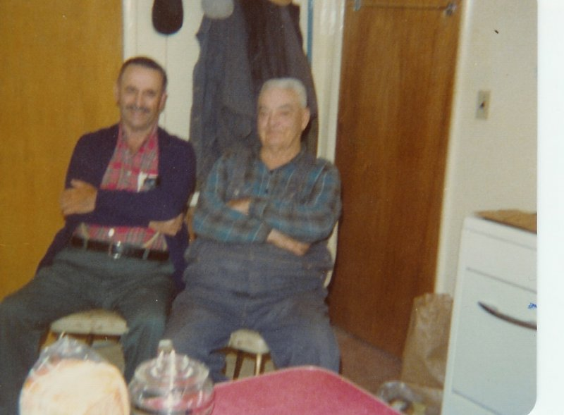 Tony Etue & Uncle Joseph