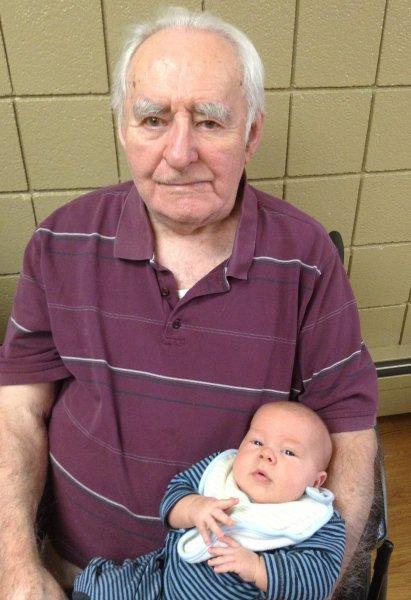 Great Grandpa and Koen