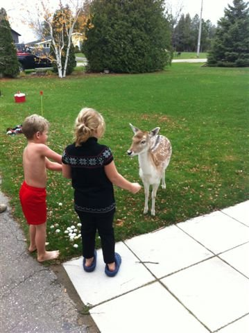 sami and jake with a deer nov 2012 004