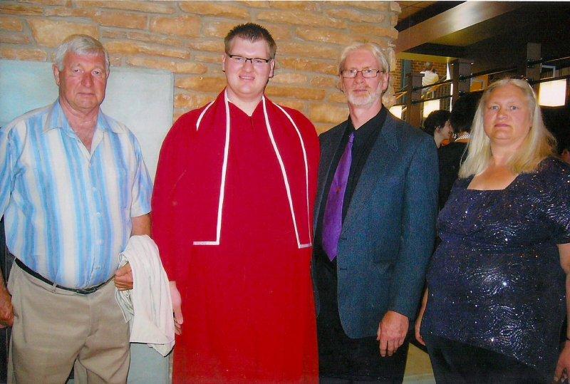 Ross Jamie Graduation