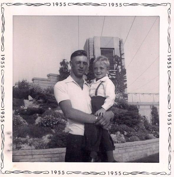 Ross and Billy 1955