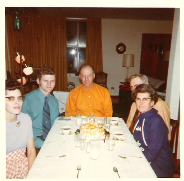 1971-02-celebrating-dougs-21st-birthdy-in-exeter