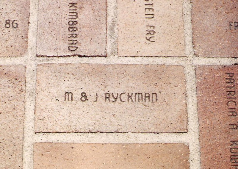 1988-feb-mj-brick-in-olympic-plaza-calgary