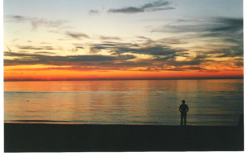 1999-09-01-grand-bend-sunset