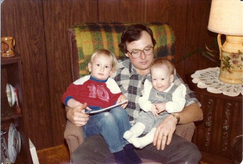 Hi and kids 1982