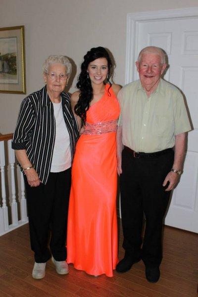 Prom - Grandma & Grandpa