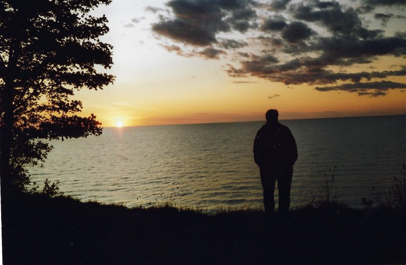Albert-Bayfield sunset 1991