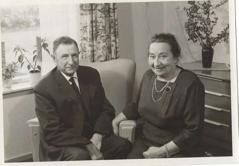 Alberts parents 1963 (Harmina + Barthold Visscher )