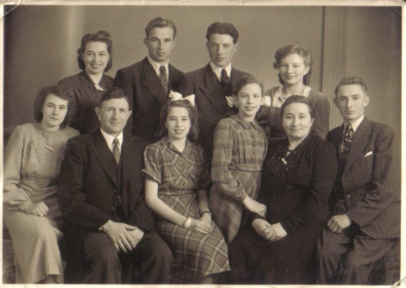 All Visscher-Pol family apr. 1950