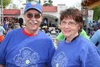 Bob and Laurel at Walk for Memories May 2012