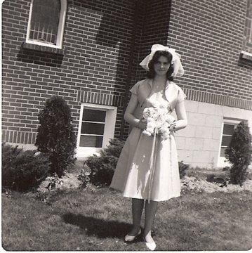 Laurel, wedding pic 1964