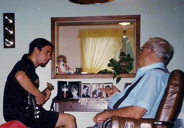 Carter & Grandpa Z