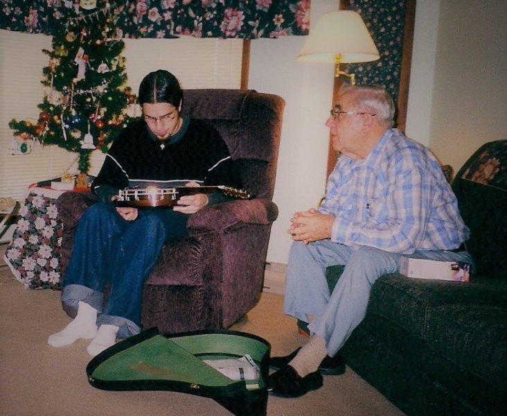 Carter and Grandpa