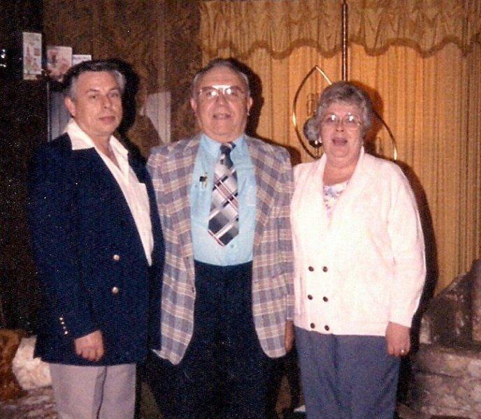 Dad w Roy and Fern