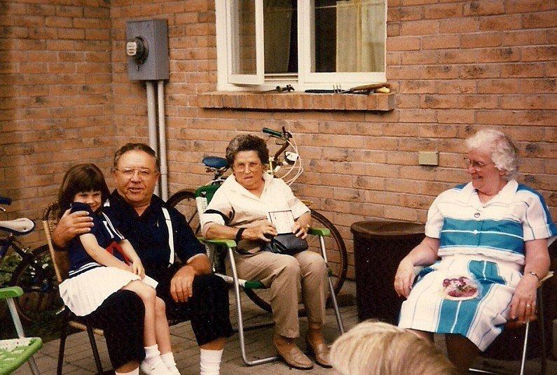 Meg Grandpa & Grandma Zinn & Reena