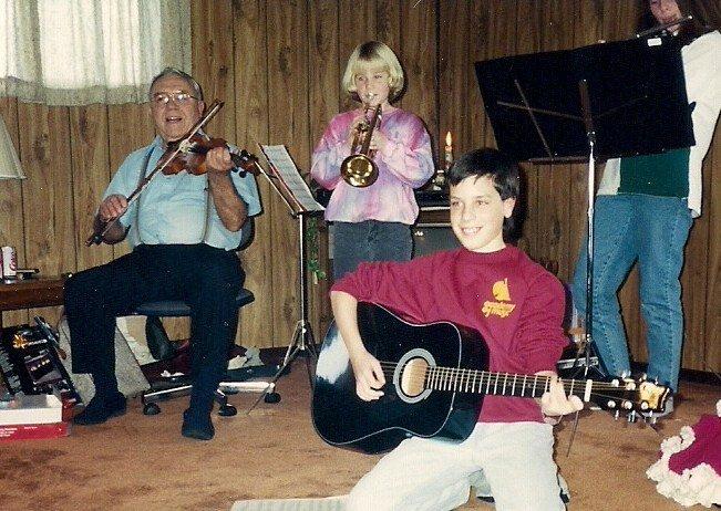 Zinn Orchestra xmas 92