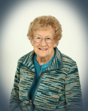 BUSWELL: Gladys (Warner) of Usborne Township