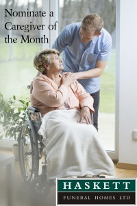 Care Giver of the Month Poster