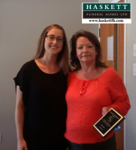 Caregiver Award August 2016