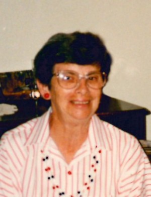 DUNN: Irene (Johns) of Exeter, formerly of Usborne Township