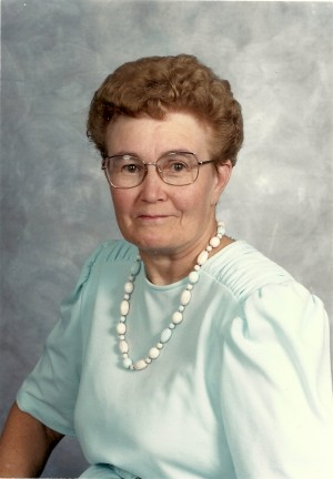 SQUIRE: Ruth Evelyn (Holden) of Exeter, formerly of Blanshard Township